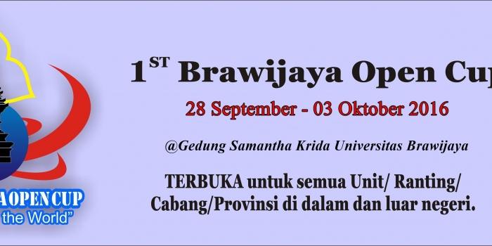 1st Brawijaya Open Cup
