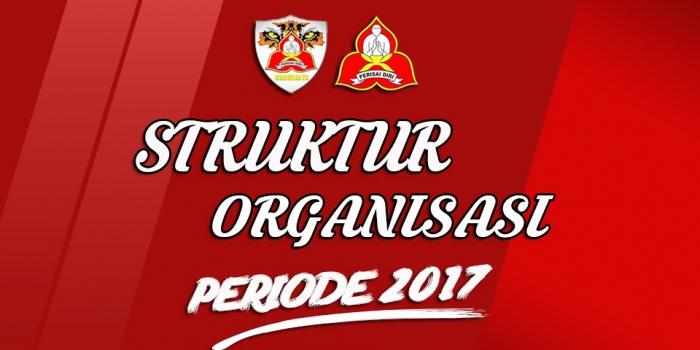 Struktur Organisasi Perisai Diri Universitas Brawijaya Periode 2017