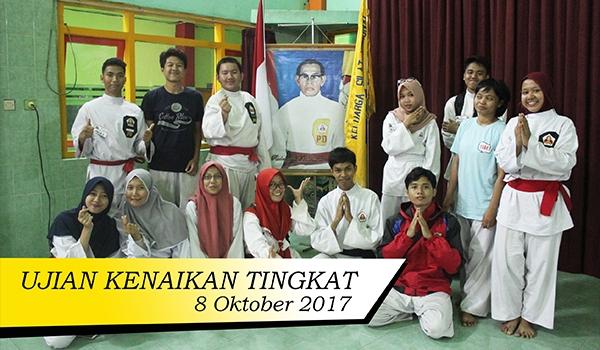 Ujian Kenaikan Tingkat (8 Oktober 2017)